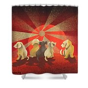 A New Day Waiting Shower Curtain