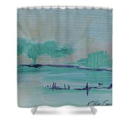 A New Earth Shower Curtain