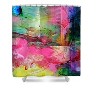 A New World Dawning Shower Curtain