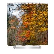 A Newport Autumn Shower Curtain