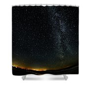 A Night At The Beach 10 Shower Curtain