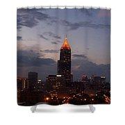 A Night In Atlanta Shower Curtain