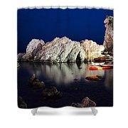 A Night In Croatia Shower Curtain