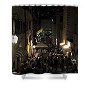 A Night In Dubrovnik Shower Curtain