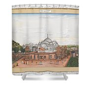 A Panoramic View Of Alwar Shower Curtain