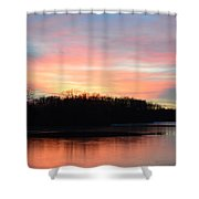 A Pastels Eve Shower Curtain