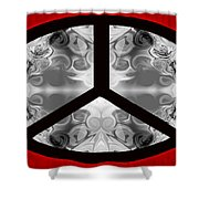 A Peace Of Life Shower Curtain