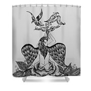 A Peace Offering Shower Curtain