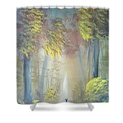 A Peaceful Journey Shower Curtain