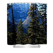 A Peek At The Peak Shower Curtain