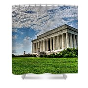 A Perfect Day In Washington Shower Curtain