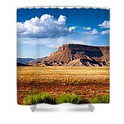 A Perfect Day Out West Shower Curtain