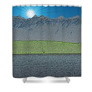 A Perfect Ending Shower Curtain