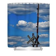 A Perfect Sky Shower Curtain