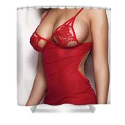 A Person To Shed Weight Shower Curtain