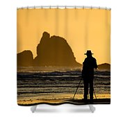A Photographer  Shower Curtain
