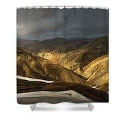 A Piece Of Laugavegur Shower Curtain