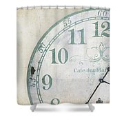 A Piece Of Time Shower Curtain