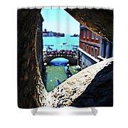 A Piece Of Venice Shower Curtain