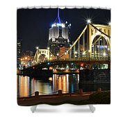 A Pittsburgh Panorama Shower Curtain
