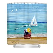 A Place For Rest Shower Curtain