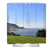 A Place I Dream Of Shower Curtain
