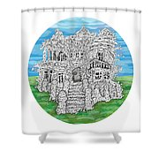 House Of Secrets Shower Curtain