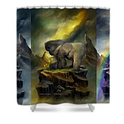 A Place To Be-to Grow-to Dream Shower Curtain