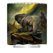 A Place To Grow Shower Curtain