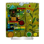 A Place To Grow II Shower Curtain
