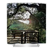 A Place To Pray Shower Curtain