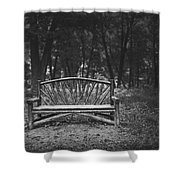 A Place To Sit 6 Shower Curtain
