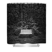 A Place To Sit Shower Curtain