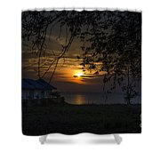 A Place To Stay Shower Curtain