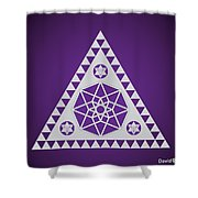 A Pleiadian Symbol Shower Curtain