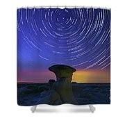 A Portal To Bisti Badlands Shower Curtain