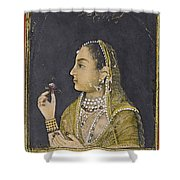 A Portrait Of Jahanara Begum Shower Curtain