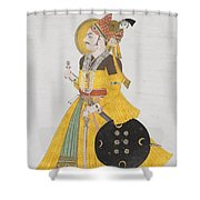 A Portrait Of Maharana Shower Curtain