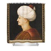 A Portrait Of Suleyman Shower Curtain