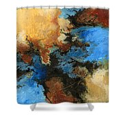 A Precious Few Abstract Shower Curtain