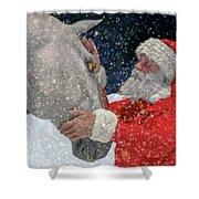 A Present For Santa Shower Curtain