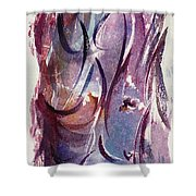 A Pretty Moment Shower Curtain