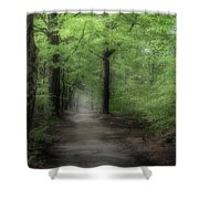 A Preview Of Speulderbos Shower Curtain