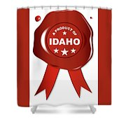 A Product Of Idaho Shower Curtain
