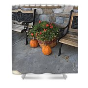 A Promise Of An Amish Harvest Shower Curtain