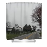 A Promise Of An Early Spring Shower Curtain