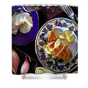 A Provence Luncheon Shower Curtain