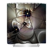 A Question Of Balance Shower Curtain