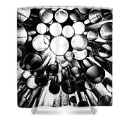 A Question Of Perspective 2 Sibelius Monument Shower Curtain