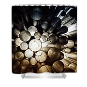 A Question Of Perspective On Sibelius Monument Shower Curtain